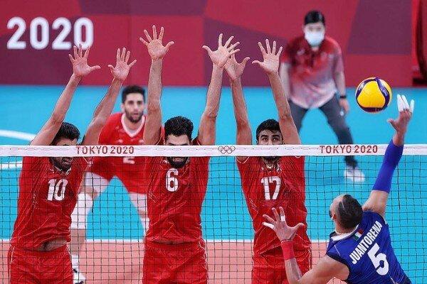 گزارش زنده المپیک  شکست تیم ملی والیبال ایران برابر ایتالیا