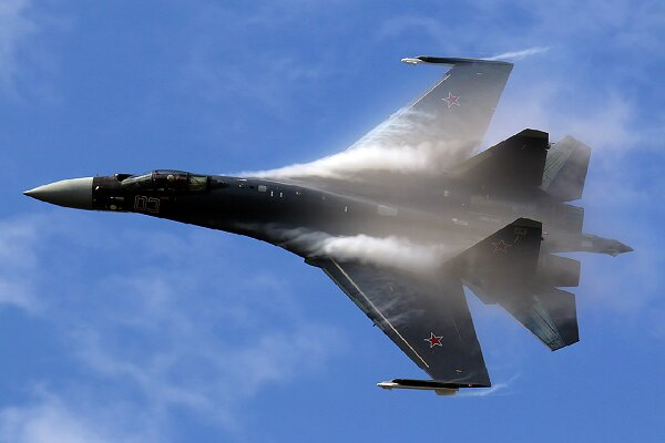 سقوط جنگنده سوخو-۳۵ روسیه