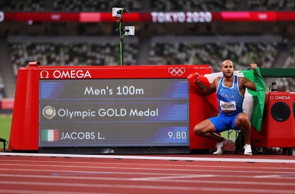 مارسل جیکوبز قهرمان دو ۱۰۰ متر المپیک شد