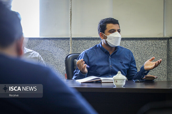 دیدار مدیرعامل خبرگزاری ایسکانیوز با فعالین تشکل های دانشجویی واحد ارومیه دانشگاه آزاد اسلامی