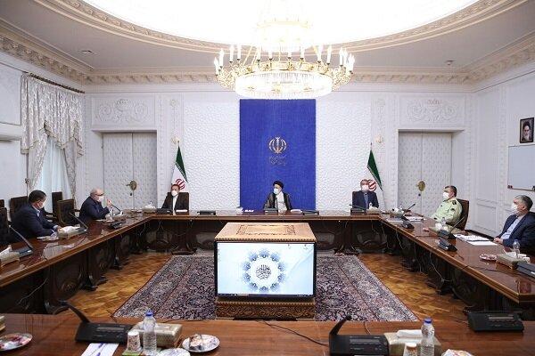 اولین جلسه رئیسی با روسای کمیته های تخصصی کرونا