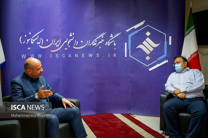 بازدید جناب آقای دکتر لشگری رئیس مرکز ورزش و تربیت بدنی دانشگاه آزاد اسلامی از خبرگزاری ایسکانیوز