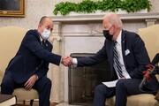 چُرتزدن بایدن حین صحبتهای نخستوزیر رژیمصهیونیستی + فیلم