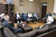 دیدار مسئولان بنیاد شهید استان یزد با سرپرست جدید دانشگاه آزاد اسلامی یزد