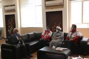 دیدار صمیمانه مدیرعامل جمعیت هلال احمر استان و هیات همراه با سرپرست جدید دانشگاه آزاد اسلامی یزد