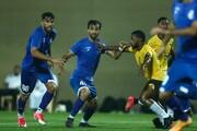 پیروزی تیم فوتبال استقلال برابر تیم ناشناس امارات