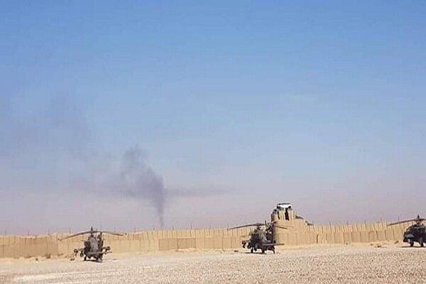 حمله به پایگاه آمریکا در شمال شرق سوریه