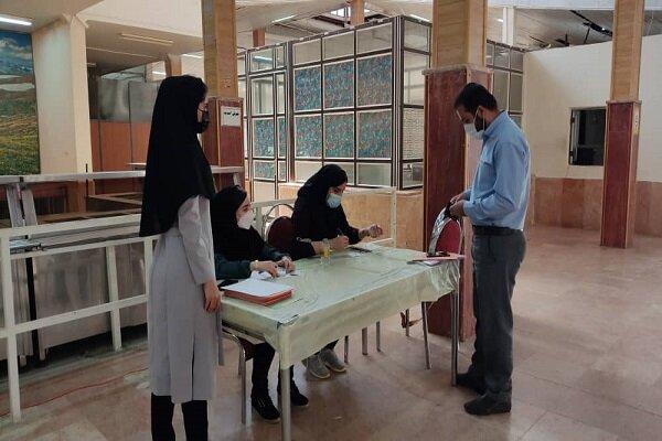 آغاز واکسیناسیون دانشجویان دانشگاه آزاد اسلامی واحد یاسوج