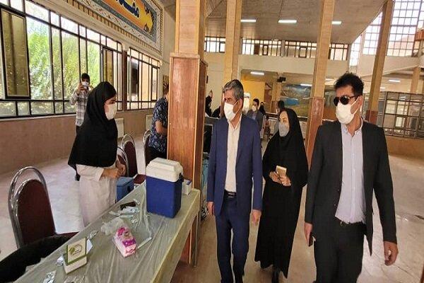 واکسیناسیون دانشجویان دانشگاه آزاد اسلامی واحد یاسوج آغاز شد