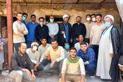 بازدید رییس واحد قزوین از دهمین اردوی جهادی بسیج دانشجویی این دانشگاه