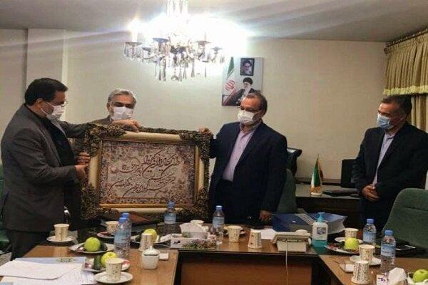 آیین تکریم و معارفه رئیس دانشگاه آزاد اسلامی خراسان رضوی و مشهد برگزار شد