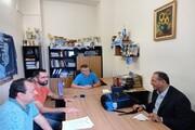 طرح اراسموس موبیلیتی با همکاری اعضای هیات علمی گروه جغرافیا واحد یزد انجام شد