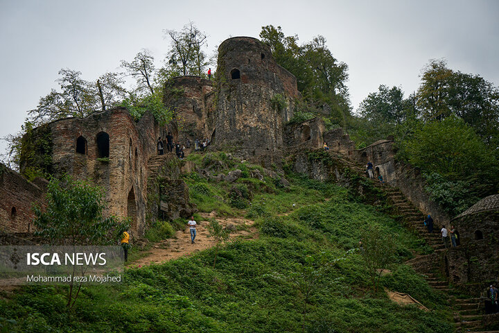 قلعه رودخان ، دژی برفراز ارتفاعات جنگلی شهرستان فومن