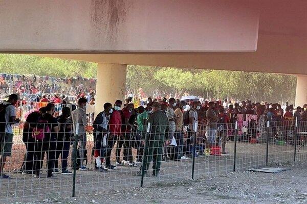 وضعیت ناگوار مهاجران در آمریکا