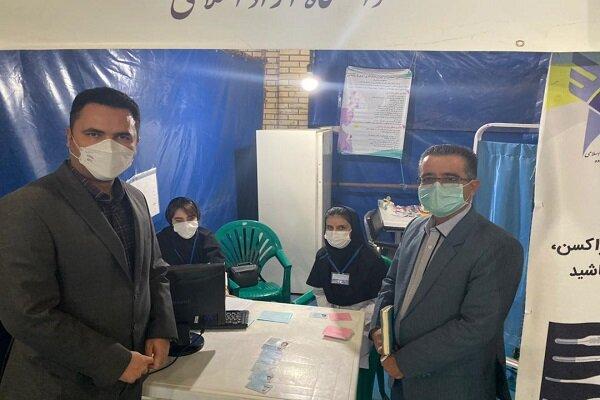 آغاز طرح واکسیناسیونعمومی در مرکز تجمیعی واحد ساوه