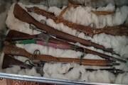 سلاحهای جا مانده از تهاجم انگلیس در افغانستان کشف شد