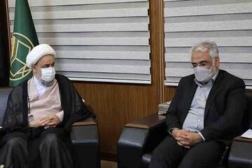 طهرانچی با دبیرکل مجمع جهانی تقریب مذاهب اسلامی دیدار کرد