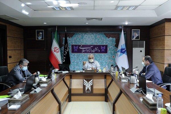 جلسه شورای هدایت استعدادهای درخشان دانشگاه آزاد اسلامی برگزار شد