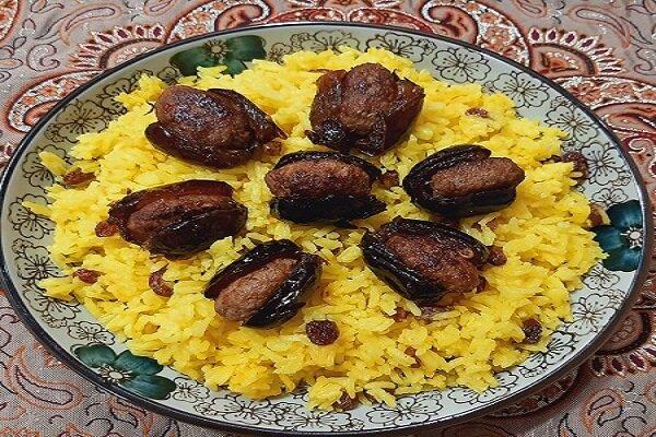 آموزش آشپزی / دستور تهیه خرما پلو غذای سنتی اهواز