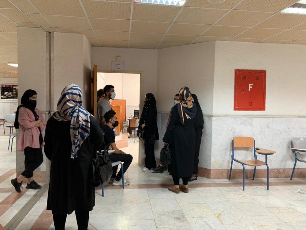 مرکز واکسیناسیون کرونا در دانشگاه آزاد استان مازنداران راهاندازی شد
