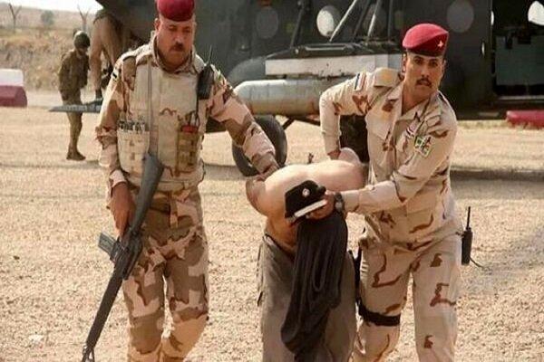 یکی از عناصر بارز داعش در الانبار عراق دستگیر شد