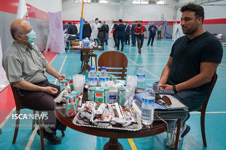 پویش اهدای خون جامعه ورزش و جوانان