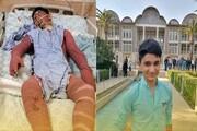 نوجوان فداکار ایذهای درگذشت