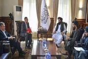 معاون شورای امنیت قرقیزستان با سرپرست وزارت خارجه طالبان دیدار کرد