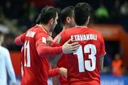 برد تیم ملی فوتسال ایران در مقابل ازبکستان / صعود به مرحله یک چهارم نهایی