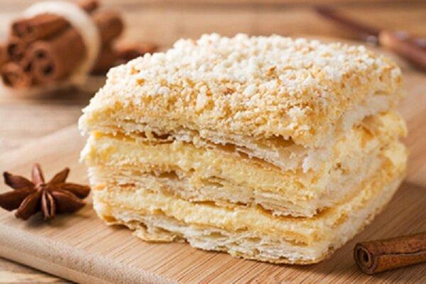 آموزش شیرینی پزی / طرز تهیه شیرینی ناپلئونی