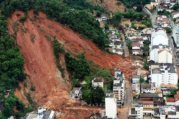 دو کشته و 12 مفقود در پی رانش زمین در چین