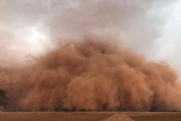 طوفان شن زابل را در غبار محو کرد  + عکس