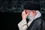 مراسم عزاداری روز رحلت پیامبر و شهادت امام حسن (ع) باحضور رهبر انقلاب برگزار شد