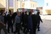 پیکر شهید حسن یاوری در دانشگاه آزاد اسلامی یزد تشییع شد