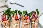 آموزش آشپزی / طرز تهیه ساندویچ گوشت ژیروسی