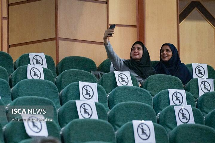 آیین افتتاحیه پژوهشکده غرب شناسی دانشگاه آزاد اسلامی در  واحد تهران مرکزی