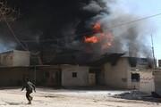 ۶ کشته در پی انفجار در یک انبار مهمات سوریه