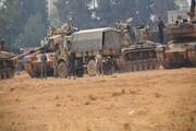 ترکیه تجهیزات نظامی جدید وارد سوریه کرد