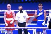 پیروزی بوکسور ایران در نخستین مبارزه جهانی خود