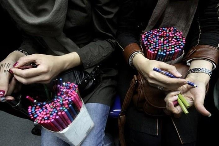 دستفروشان مترو ماهانه ۳ میلیون تومان درآمد دارند