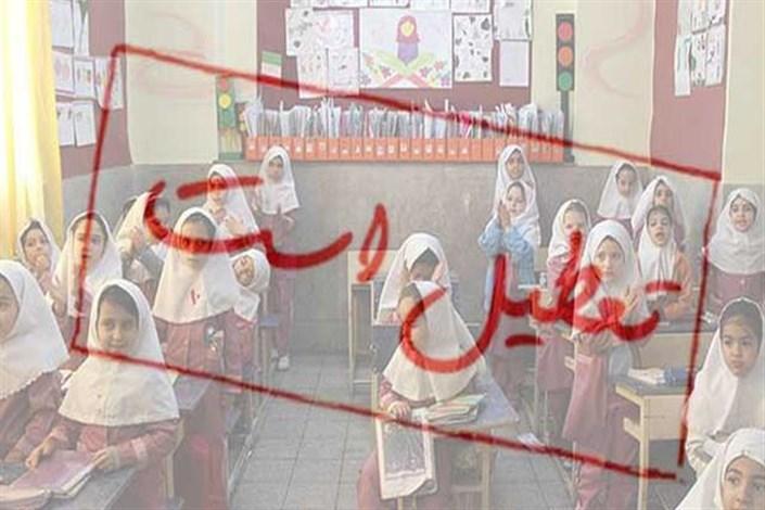 مدارس استان تهران تا آخر هفته تعطیل است