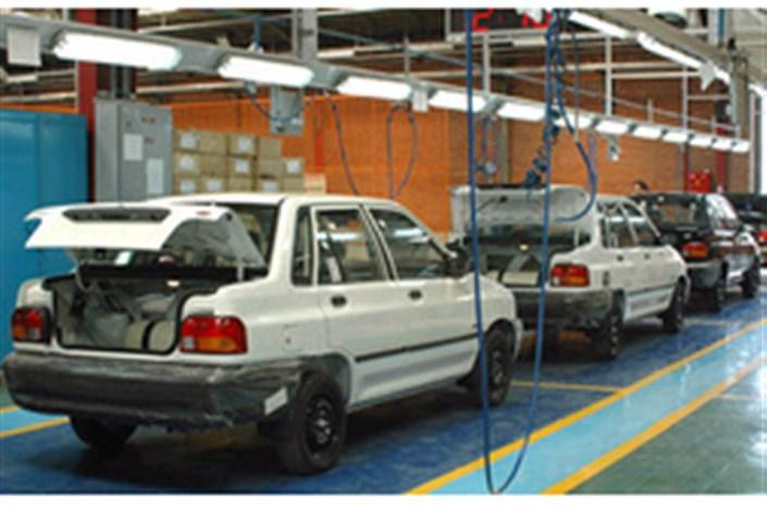 آمار تولید خودروهای دوگانه سوز