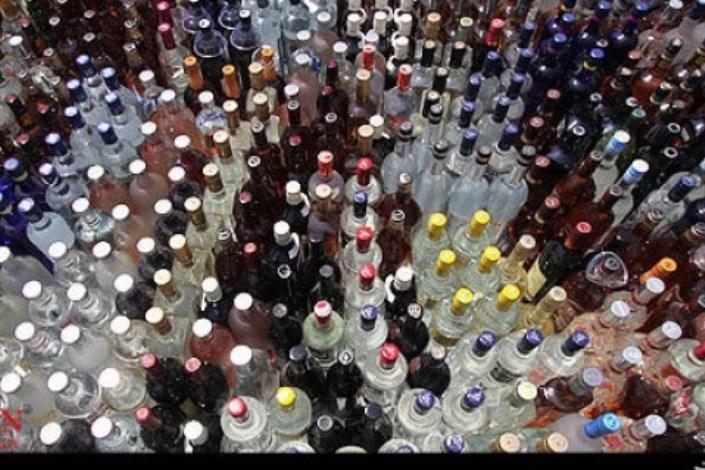 کشف محموله مشروبات الکلی در مشهد
