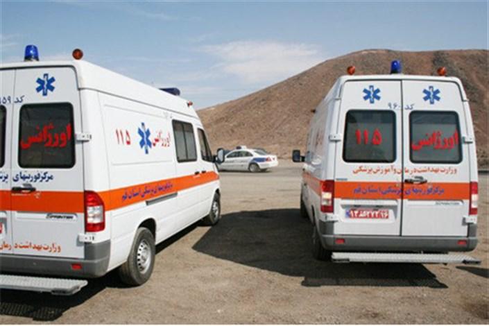 13 مصدوم طوفان مازندران به بیمارستان منتقل شدند