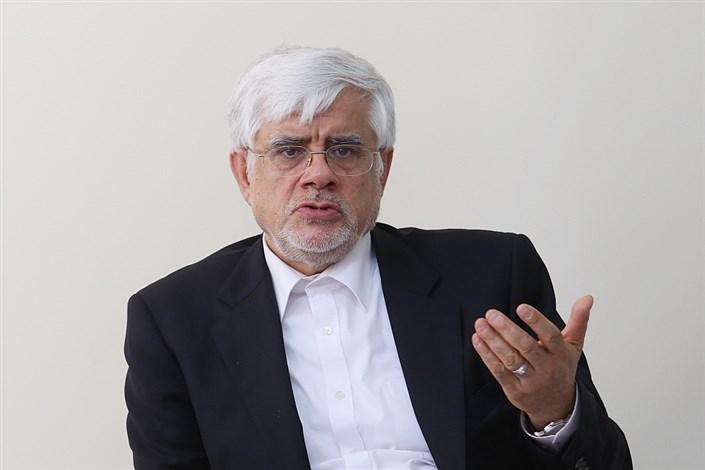 واکنش عارف به تشکیل فراکسیون سوم مجلس