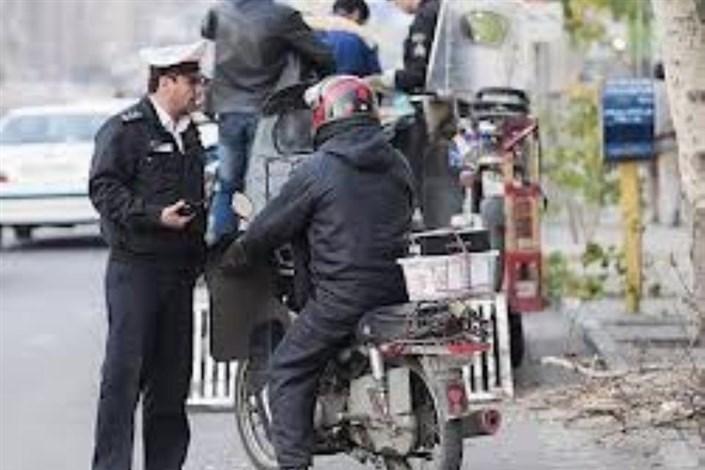 راکب و سرنشین موتورسیکلت ها باید کلاه ایمنی داشته باشند