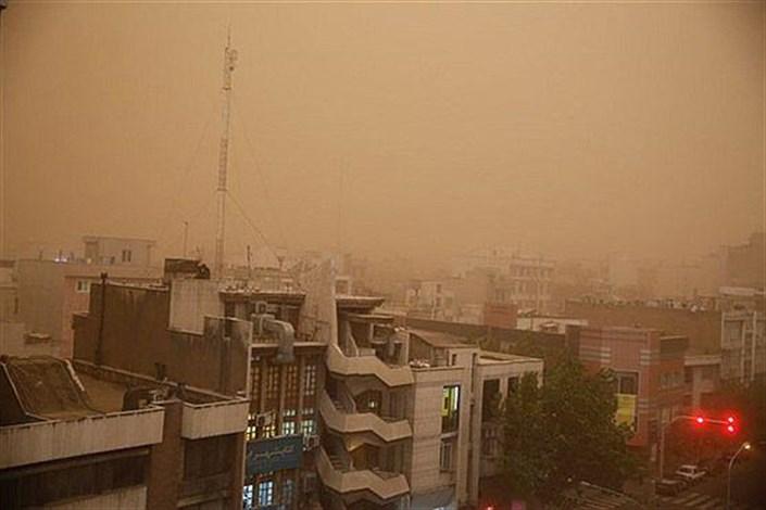 افزایش گرد و غبار در سه استان کشور