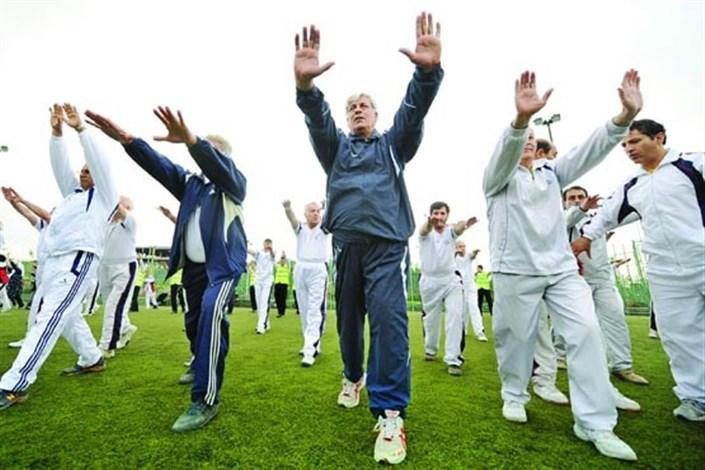 ورزش کردن  از افسردگی های دوران سالمندی  جلوگیری می کند