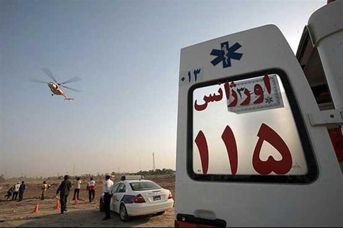 27 مصدوم حادثه برخورد اتوبوس با موانع ایست و بازرسی در محور زاهدان- زابل به بیمارستان های زاهدان منتقل شدند