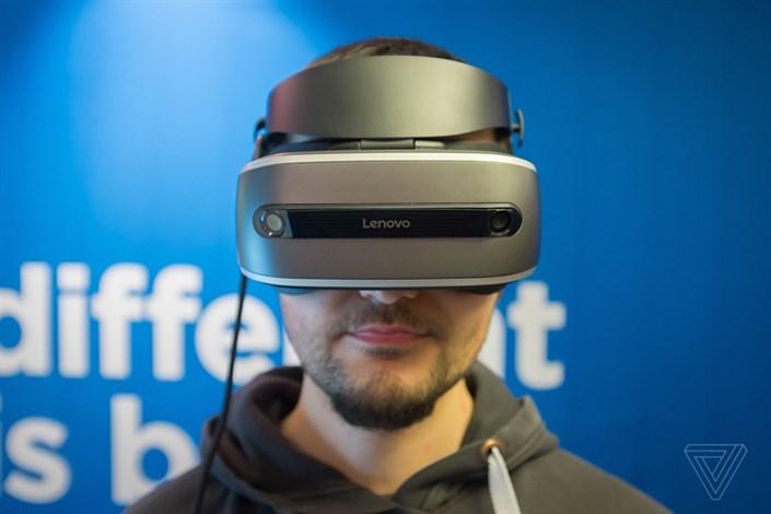 لنوو اولین هدست واقعیت مجازی ویندوز هولوگرافیک خود را به نمایش گذاشت